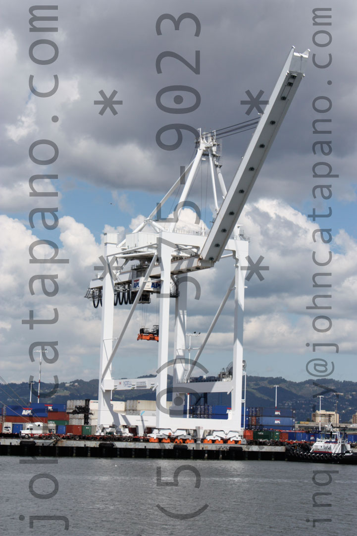 Port of Oakland Crane